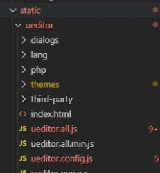 vue项目怎么安装百度的ueditor富文本编辑器